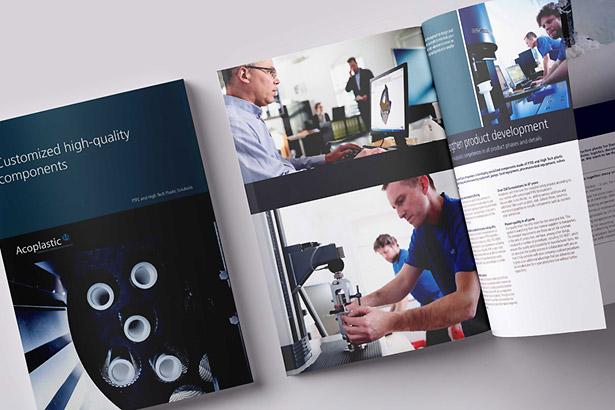 Brochure: Customized high-quality components - Acoplastic